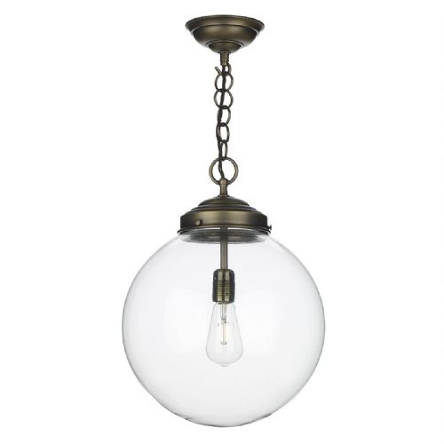 Fairfax  Pendant Antique Brass (Shade Sold Separate) FAI0175 (7-10 day Delivery) (Double Insulated)